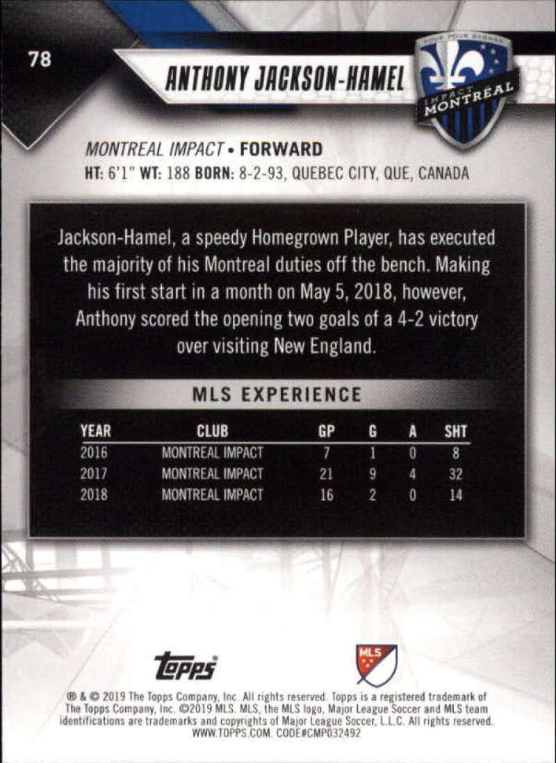 2019-Topps-MLS-Soccer-Base-Set-Cards-Choose-From-Card-039-s-1-200 thumbnail 157