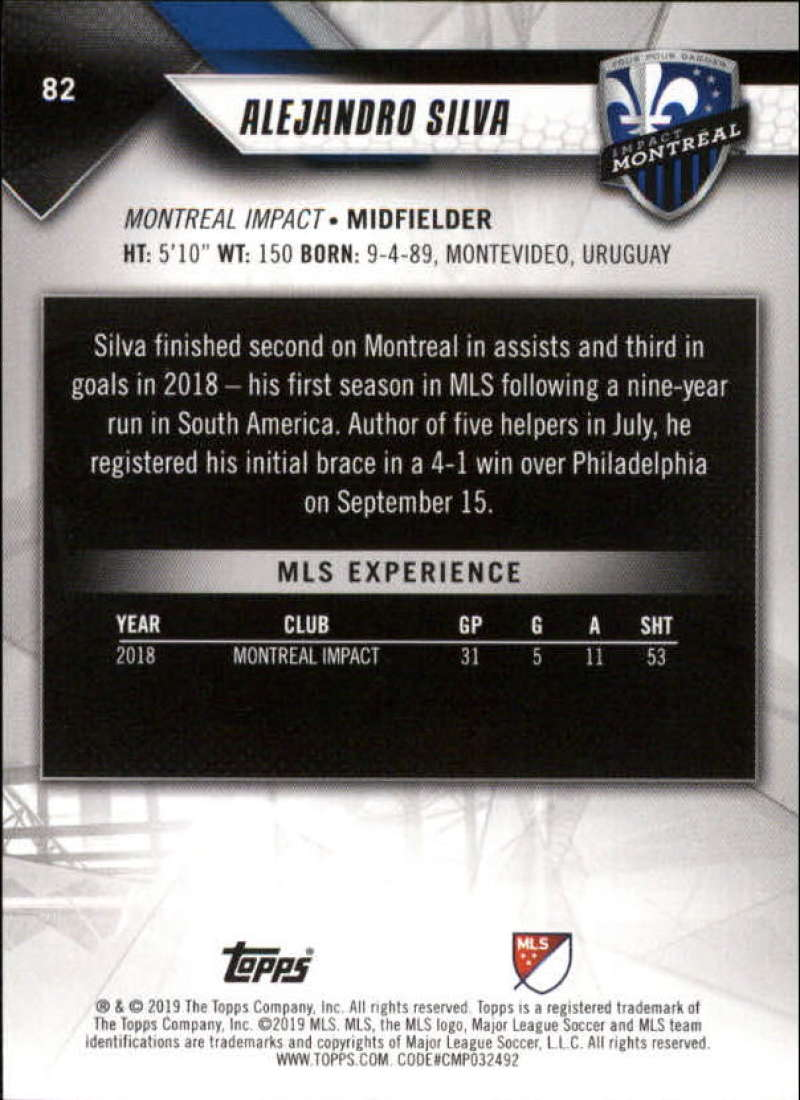 2019-Topps-MLS-Soccer-Base-Set-Cards-Choose-From-Card-039-s-1-200 thumbnail 165