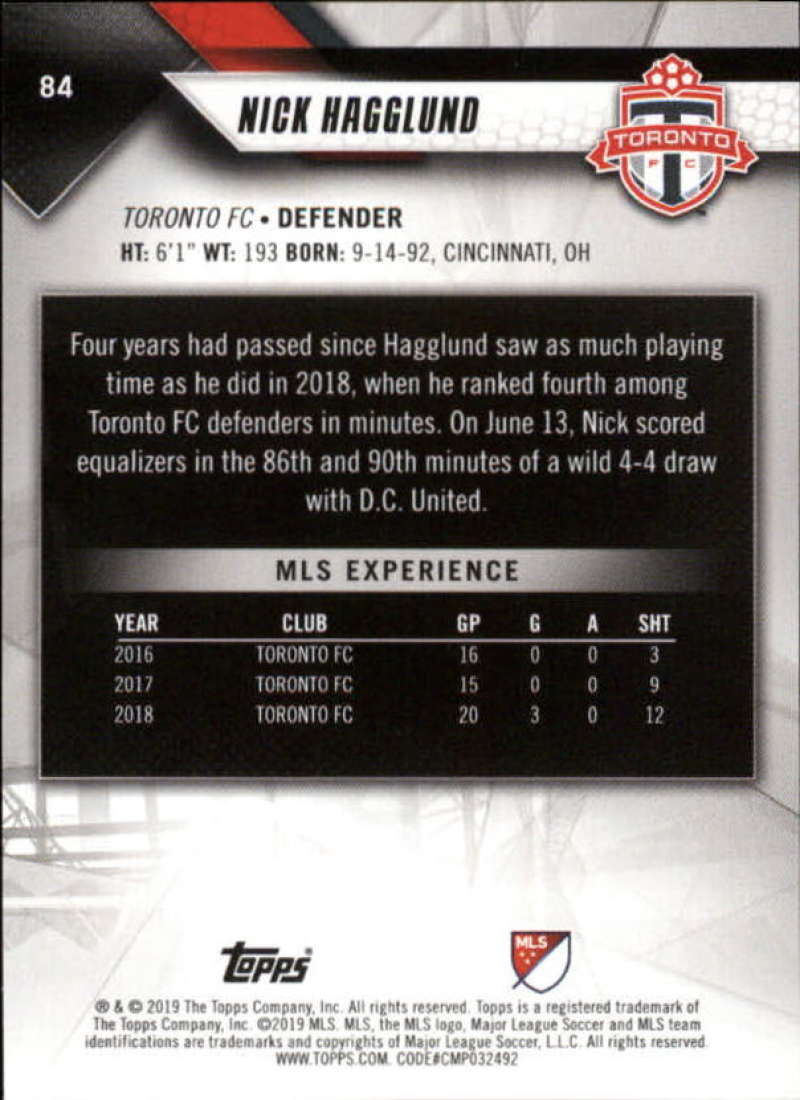 2019-Topps-MLS-Soccer-Base-Set-Cards-Choose-From-Card-039-s-1-200 thumbnail 169
