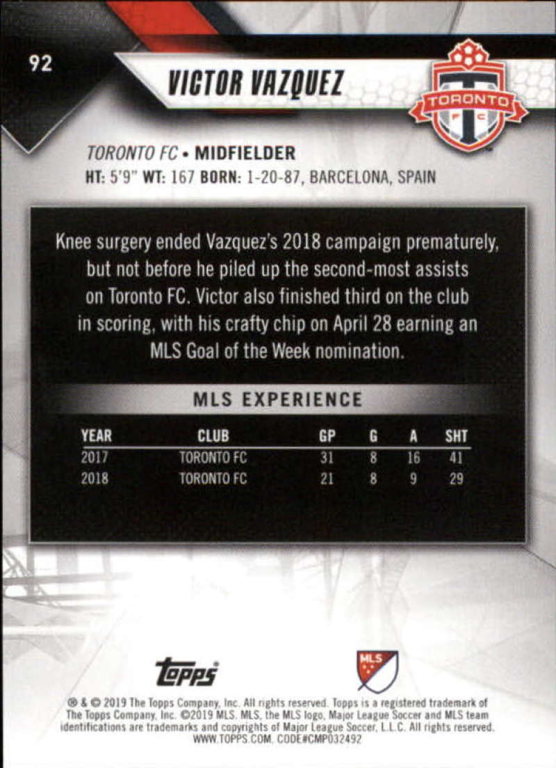 2019-Topps-MLS-Soccer-Base-Set-Cards-Choose-From-Card-039-s-1-200 thumbnail 185