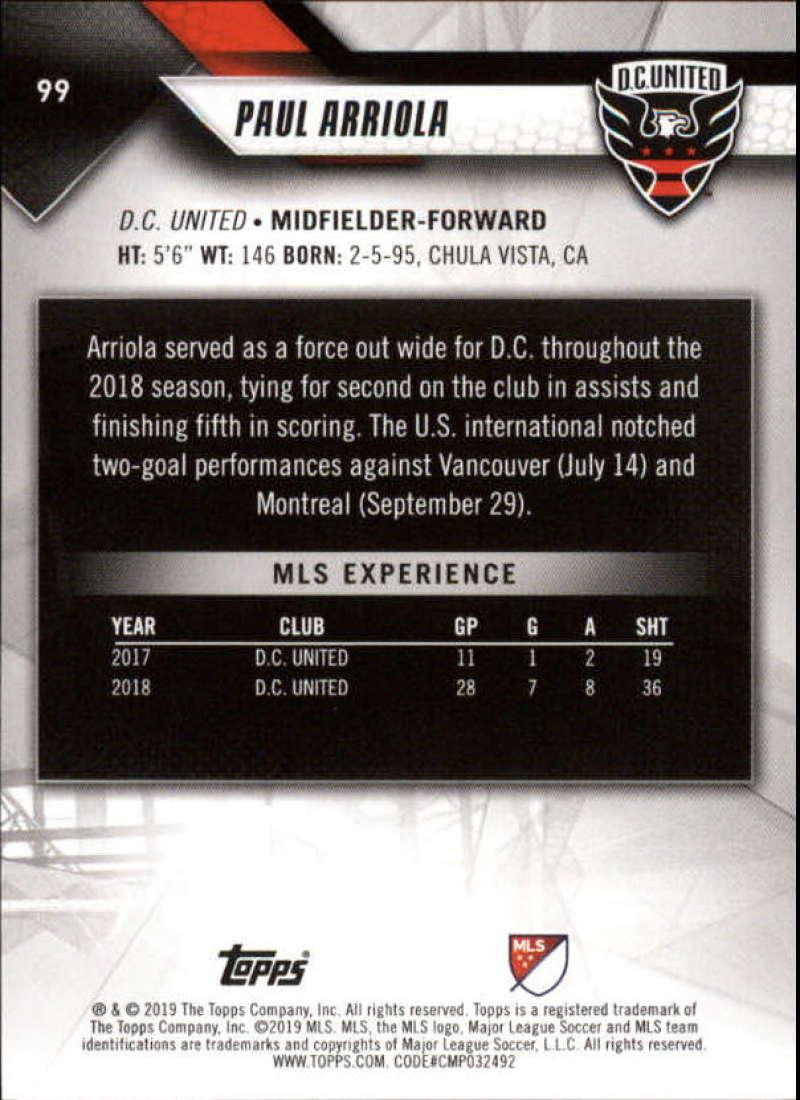2019-Topps-MLS-Soccer-Pick-A-Card thumbnail 199