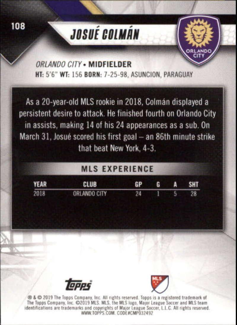 2019-Topps-MLS-Soccer-Pick-A-Card thumbnail 217