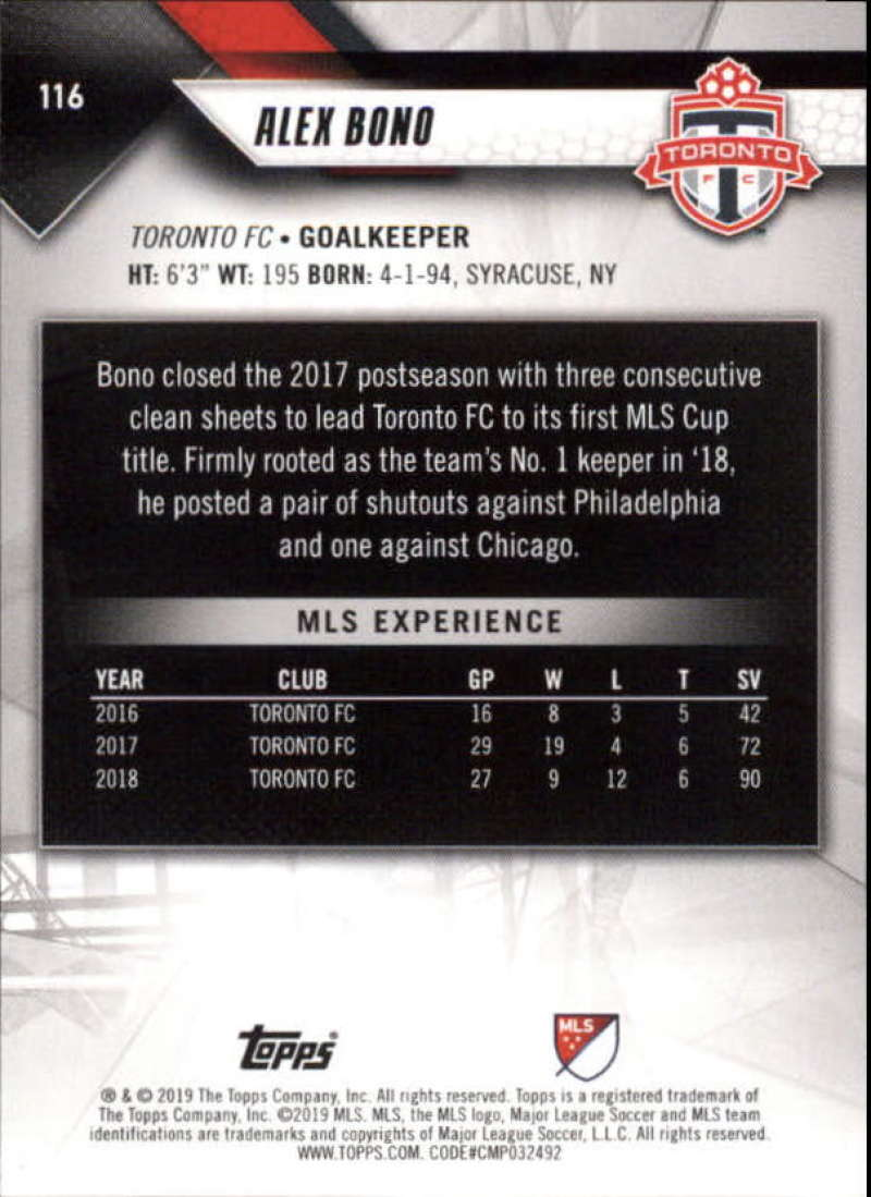 2019-Topps-MLS-Soccer-Base-Set-Cards-Choose-From-Card-039-s-1-200 thumbnail 233