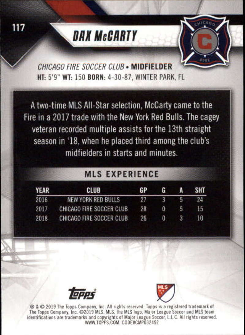 2019-Topps-MLS-Soccer-Base-Set-Cards-Choose-From-Card-039-s-1-200 thumbnail 235