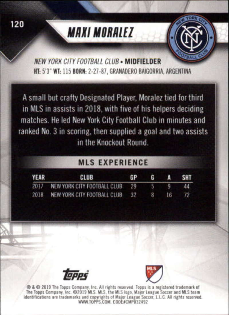 2019-Topps-MLS-Soccer-Base-Set-Cards-Choose-From-Card-039-s-1-200 thumbnail 241