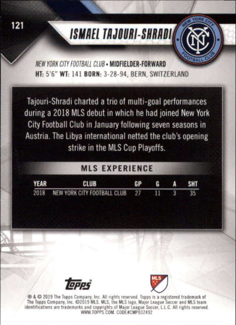 2019-Topps-MLS-Soccer-Base-Set-Cards-Choose-From-Card-039-s-1-200 thumbnail 243