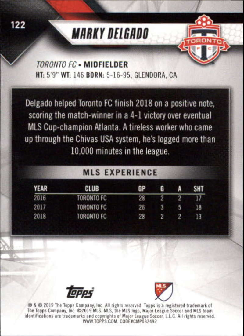 2019-Topps-MLS-Soccer-Base-Set-Cards-Choose-From-Card-039-s-1-200 thumbnail 245