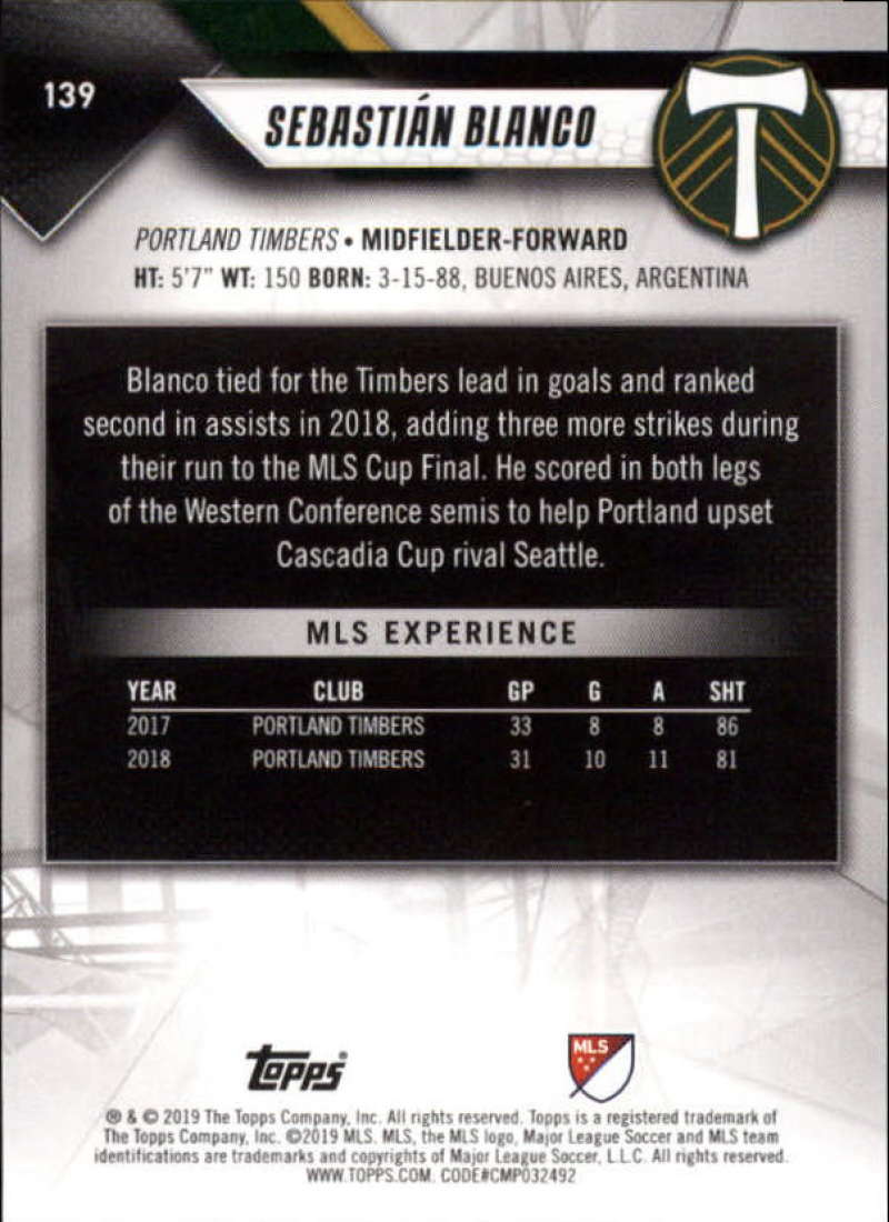 2019-Topps-MLS-Soccer-Base-Set-Cards-Choose-From-Card-039-s-1-200 thumbnail 279