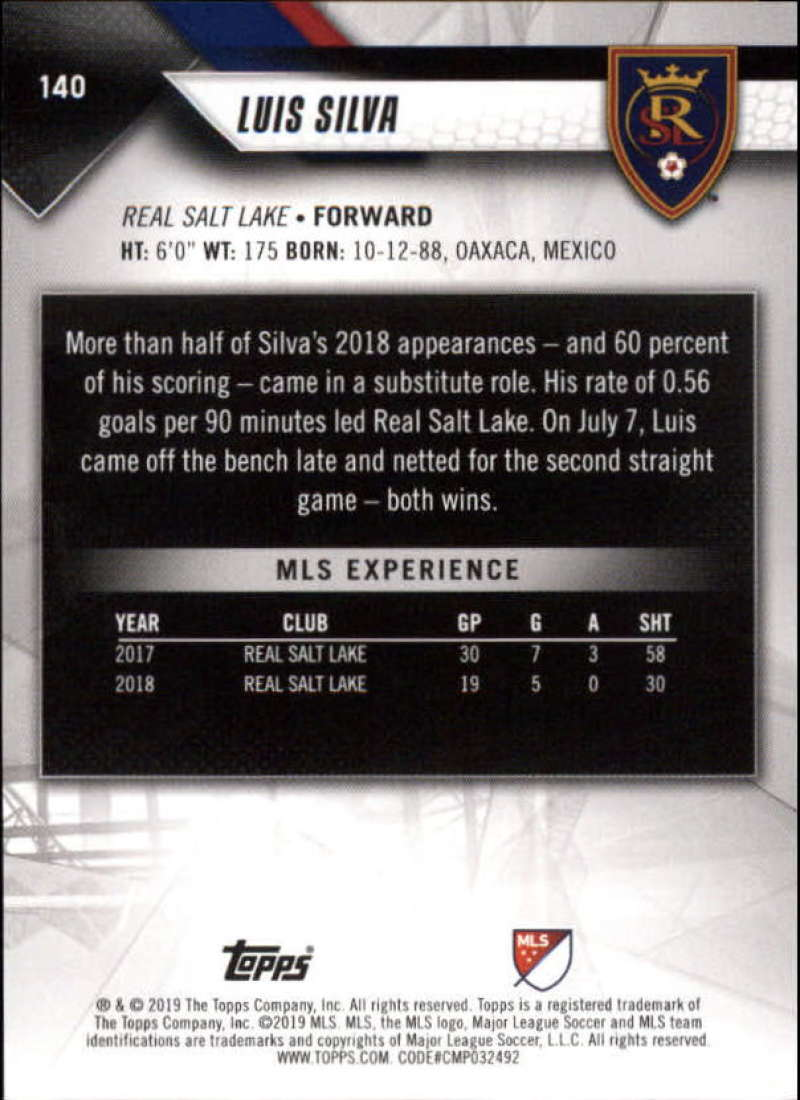 2019-Topps-MLS-Soccer-Base-Set-Cards-Choose-From-Card-039-s-1-200 thumbnail 281