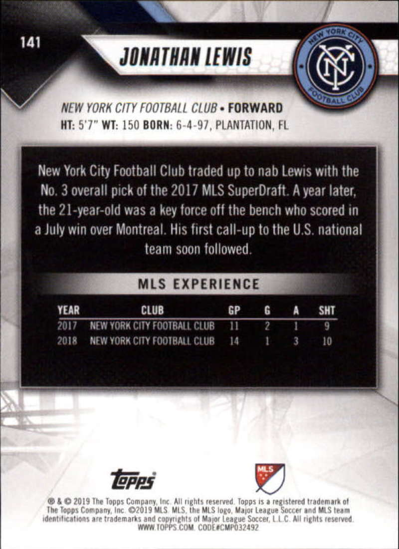 2019-Topps-MLS-Soccer-Base-Set-Cards-Choose-From-Card-039-s-1-200 thumbnail 283