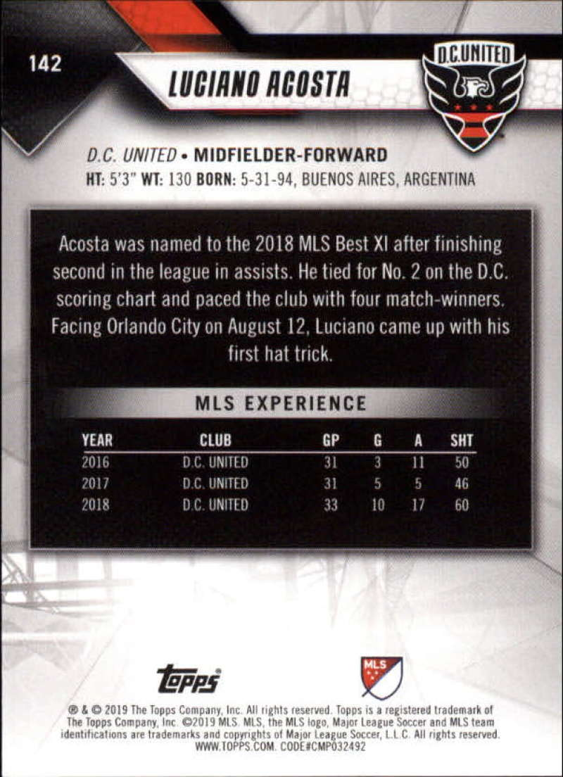 2019-Topps-MLS-Soccer-Base-Set-Cards-Choose-From-Card-039-s-1-200 thumbnail 285