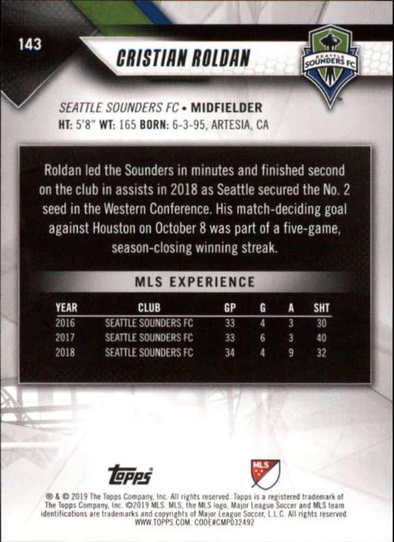2019-Topps-MLS-Soccer-Pick-A-Card thumbnail 287