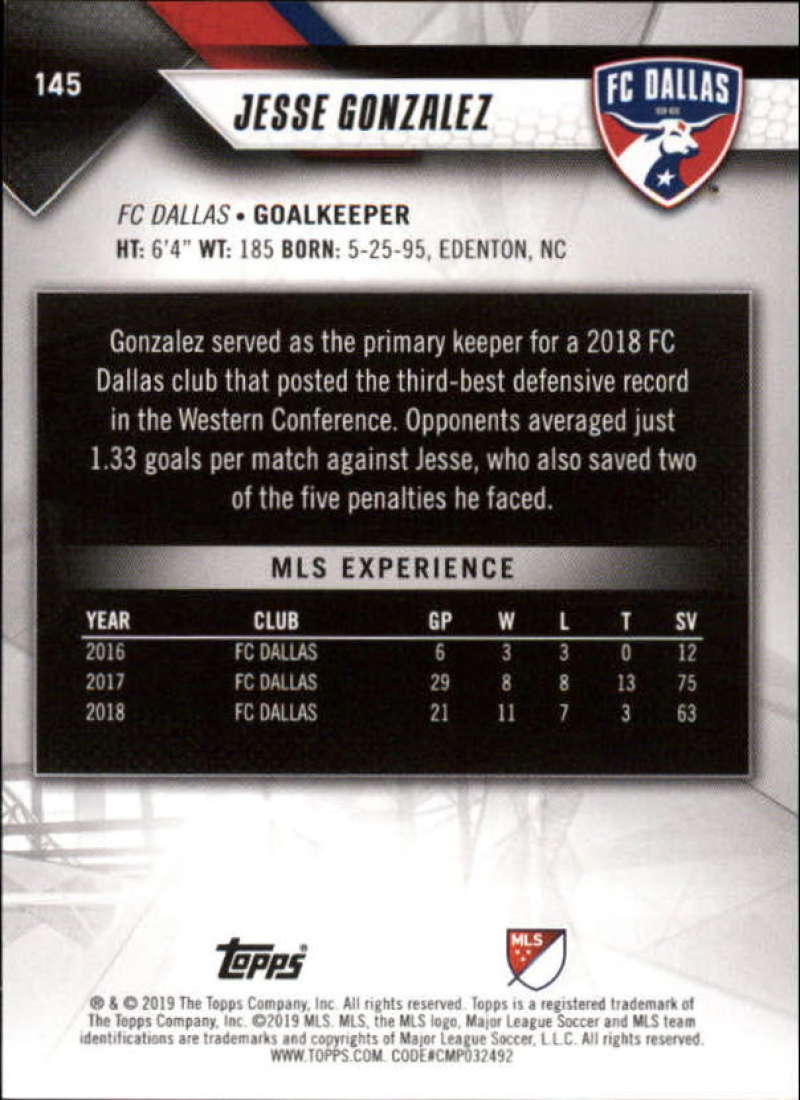 2019-Topps-MLS-Soccer-Base-Set-Cards-Choose-From-Card-039-s-1-200 thumbnail 291