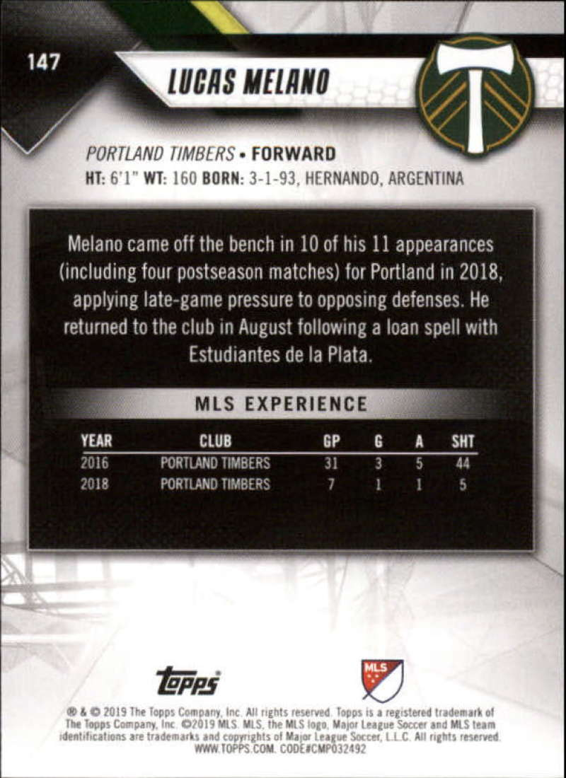 2019-Topps-MLS-Soccer-Base-Set-Cards-Choose-From-Card-039-s-1-200 thumbnail 295