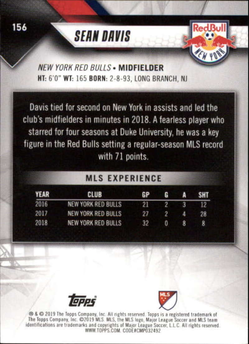 2019-Topps-MLS-Soccer-Base-Set-Cards-Choose-From-Card-039-s-1-200 thumbnail 313