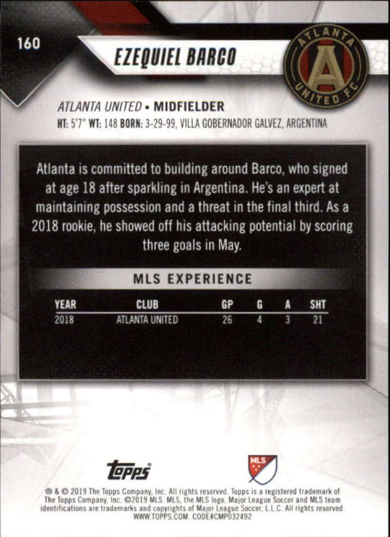 2019-Topps-MLS-Soccer-Base-Set-Cards-Choose-From-Card-039-s-1-200 thumbnail 321