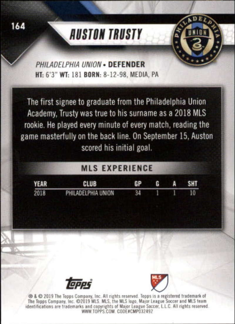 2019-Topps-MLS-Soccer-Base-Set-Cards-Choose-From-Card-039-s-1-200 thumbnail 329