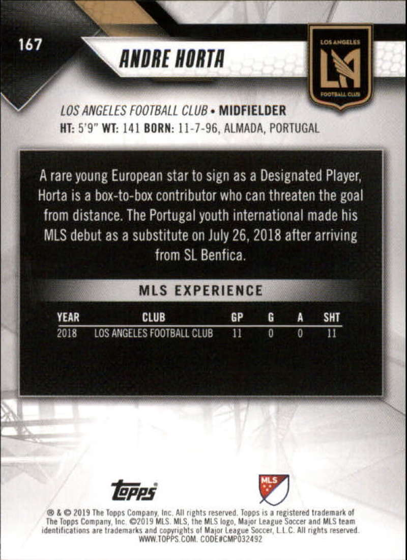 2019-Topps-MLS-Soccer-Base-Set-Cards-Choose-From-Card-039-s-1-200 thumbnail 335