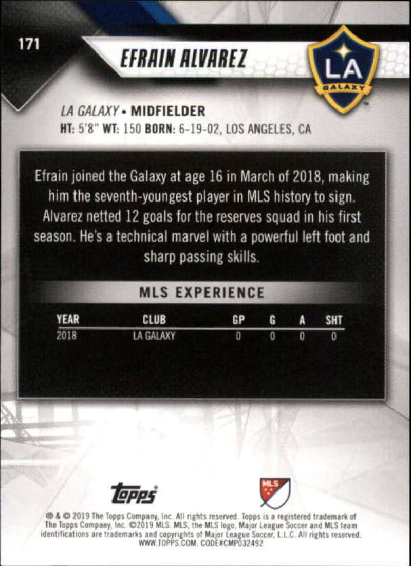 2019-Topps-MLS-Soccer-Base-Set-Cards-Choose-From-Card-039-s-1-200 thumbnail 343