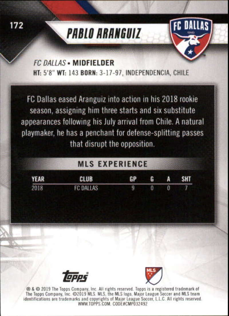 2019-Topps-MLS-Soccer-Base-Set-Cards-Choose-From-Card-039-s-1-200 thumbnail 345
