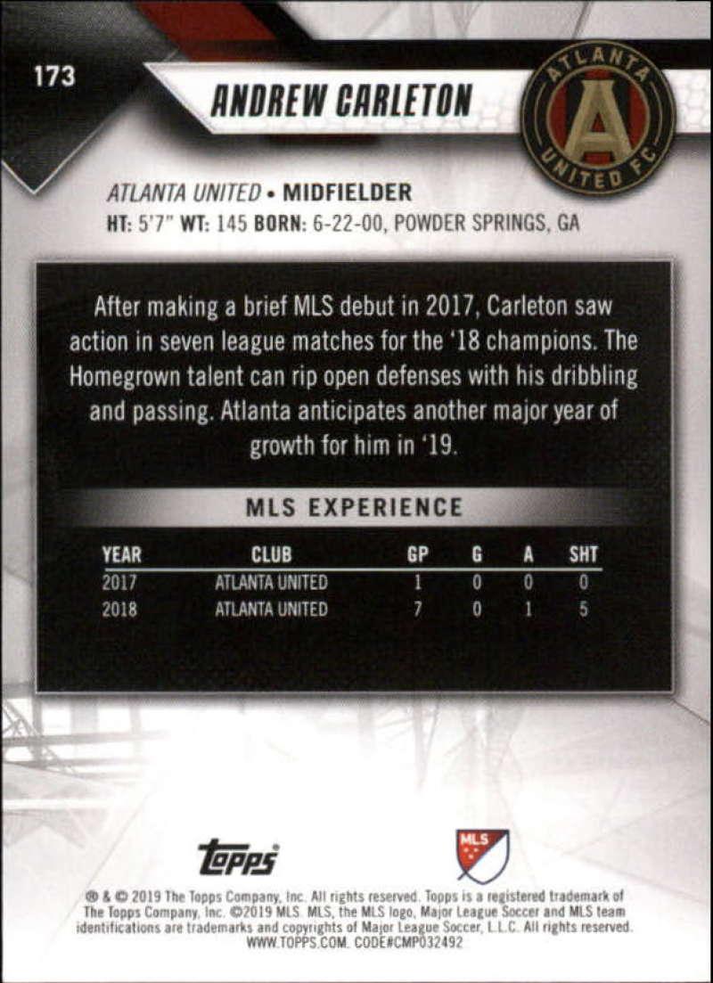 2019-Topps-MLS-Soccer-Pick-A-Card thumbnail 347