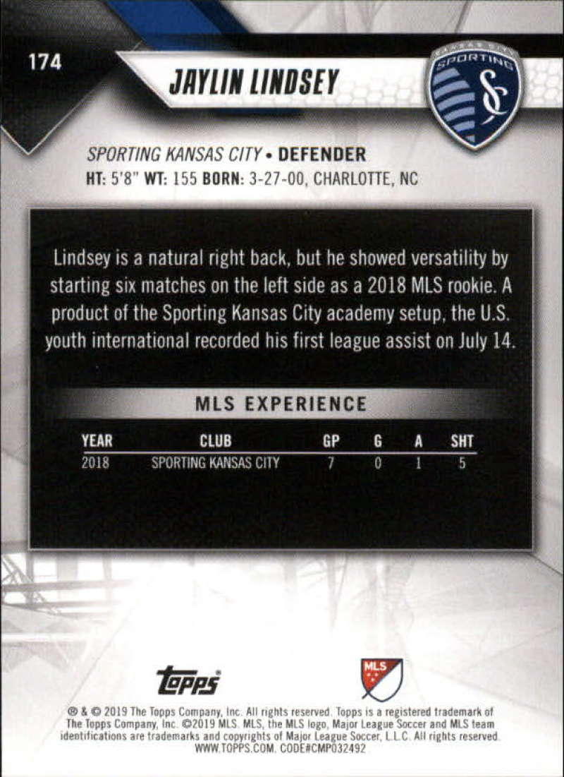 2019-Topps-MLS-Soccer-Base-Set-Cards-Choose-From-Card-039-s-1-200 thumbnail 349