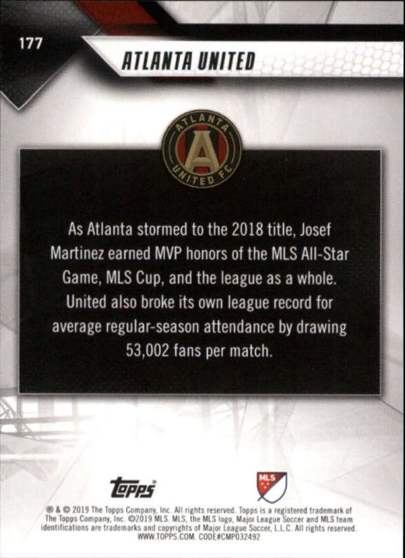 2019-Topps-MLS-Soccer-Base-Set-Cards-Choose-From-Card-039-s-1-200 thumbnail 355