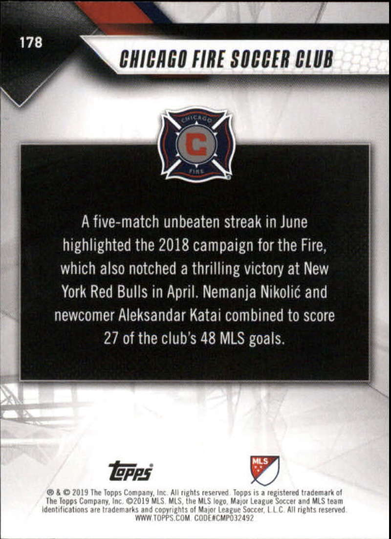 2019-Topps-MLS-Soccer-Base-Set-Cards-Choose-From-Card-039-s-1-200 thumbnail 357