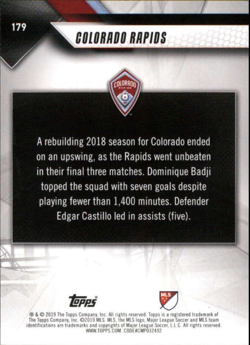 2019-Topps-MLS-Soccer-Base-Set-Cards-Choose-From-Card-039-s-1-200 thumbnail 359