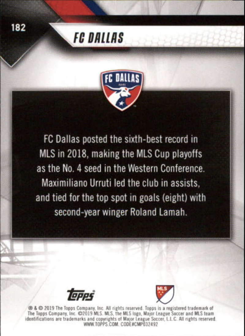 2019-Topps-MLS-Soccer-Base-Set-Cards-Choose-From-Card-039-s-1-200 thumbnail 365