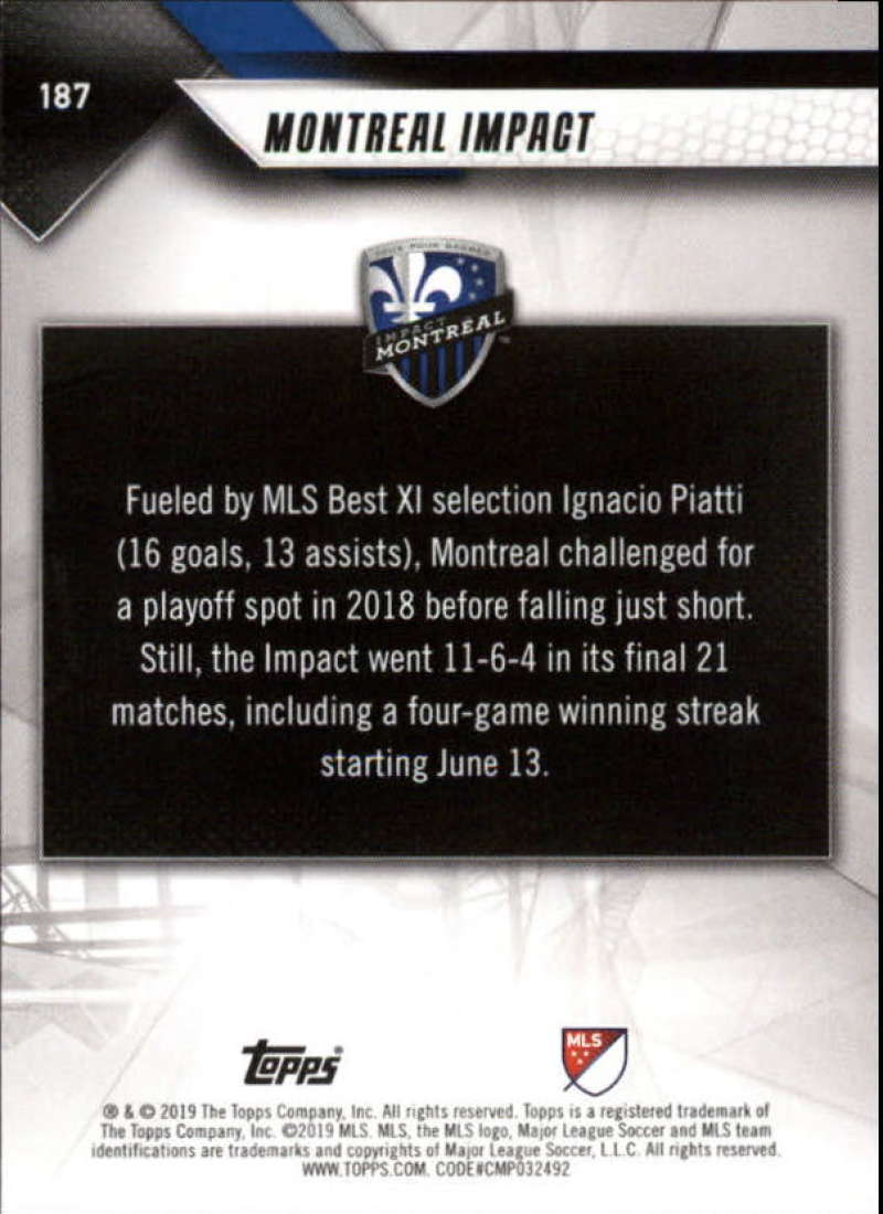 2019-Topps-MLS-Soccer-Base-Set-Cards-Choose-From-Card-039-s-1-200 thumbnail 375