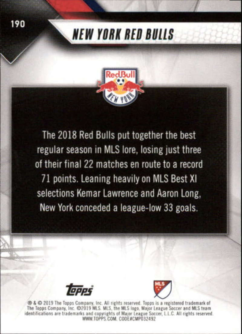 2019-Topps-MLS-Soccer-Base-Set-Cards-Choose-From-Card-039-s-1-200 thumbnail 381