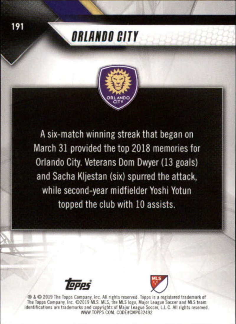 2019-Topps-MLS-Soccer-Base-Set-Cards-Choose-From-Card-039-s-1-200 thumbnail 383