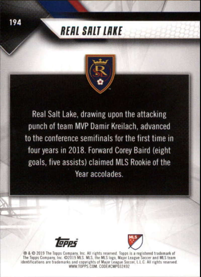 2019-Topps-MLS-Soccer-Base-Set-Cards-Choose-From-Card-039-s-1-200 thumbnail 389