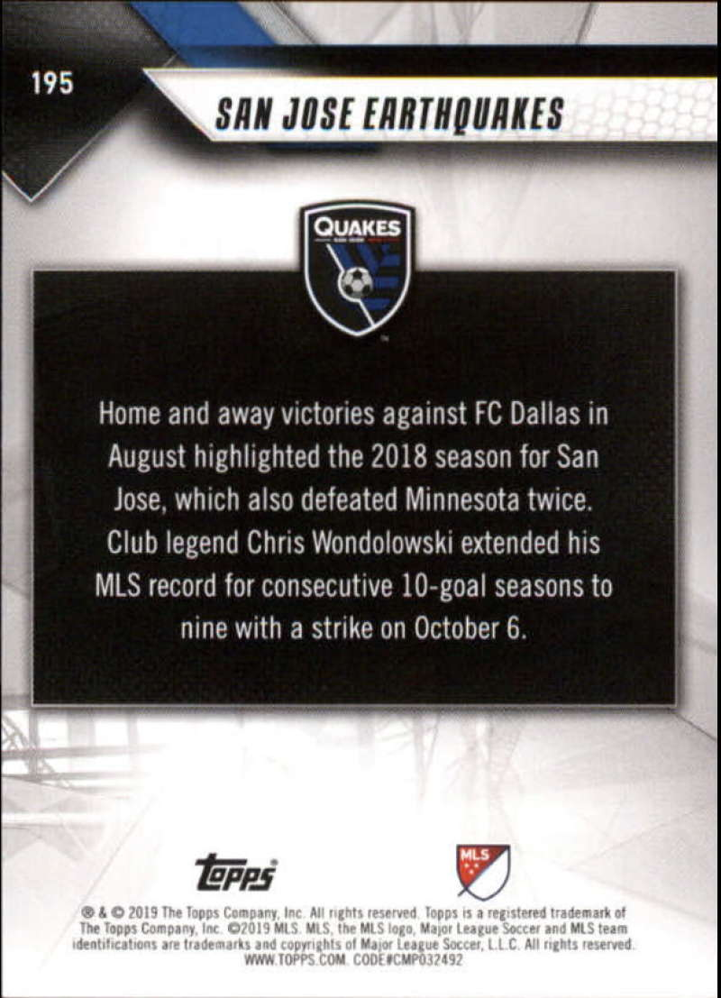 2019-Topps-MLS-Soccer-Base-Set-Cards-Choose-From-Card-039-s-1-200 thumbnail 391