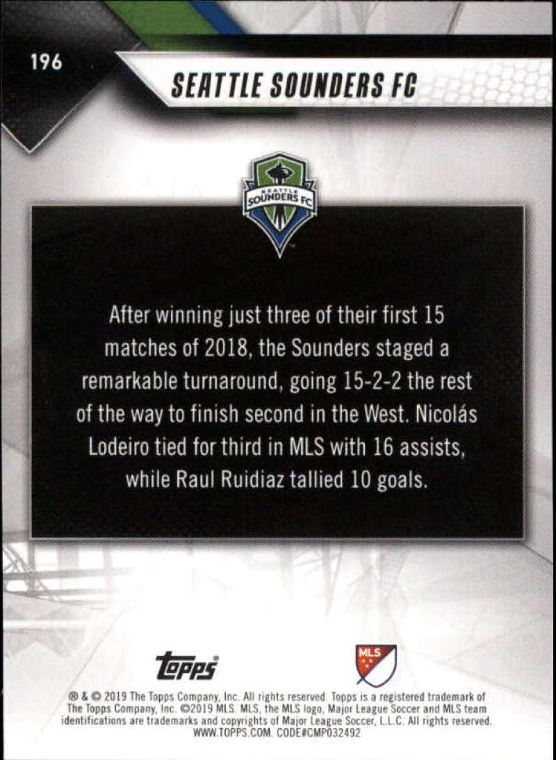 2019-Topps-MLS-Soccer-Base-Set-Cards-Choose-From-Card-039-s-1-200 thumbnail 393