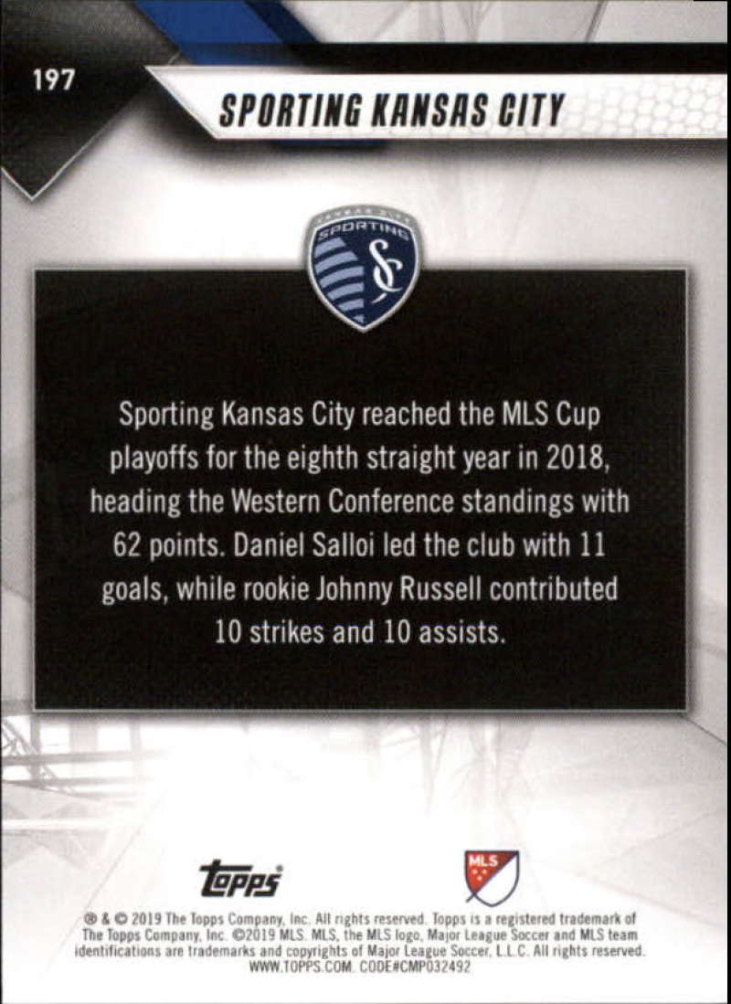 2019-Topps-MLS-Soccer-Base-Set-Cards-Choose-From-Card-039-s-1-200 thumbnail 395