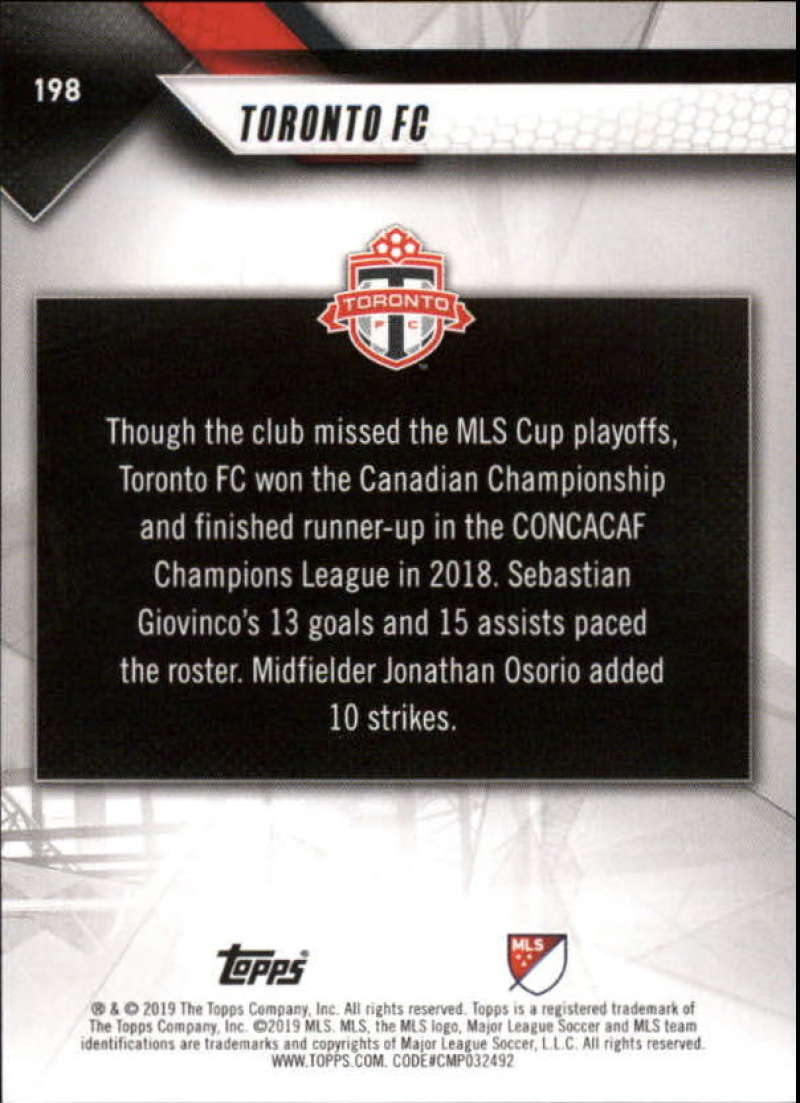 2019-Topps-MLS-Soccer-Base-Set-Cards-Choose-From-Card-039-s-1-200 thumbnail 397