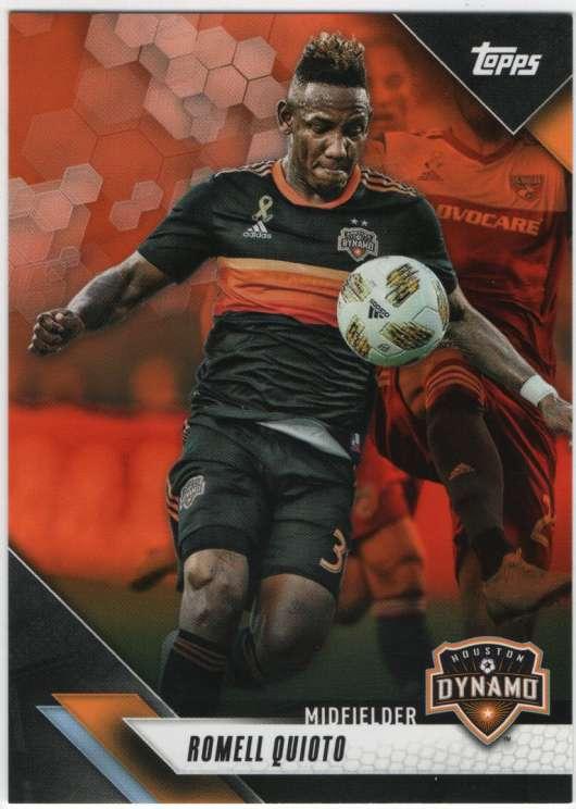 2019 Topps MLS Orange