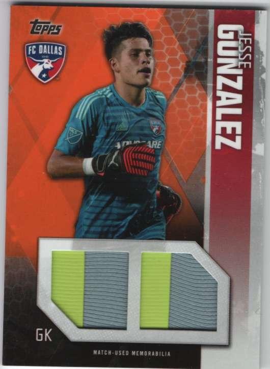 2019 Topps MLS Single-Player Dual Relics Orange