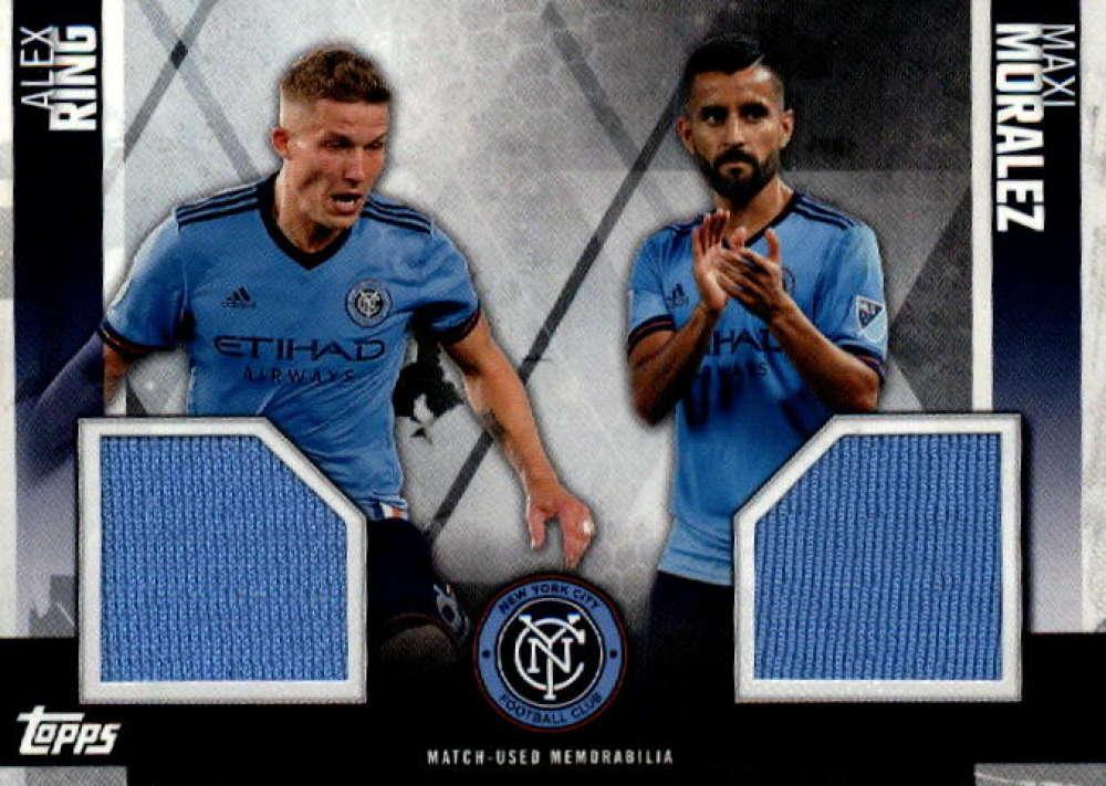 2019 Topps MLS Dual Relics