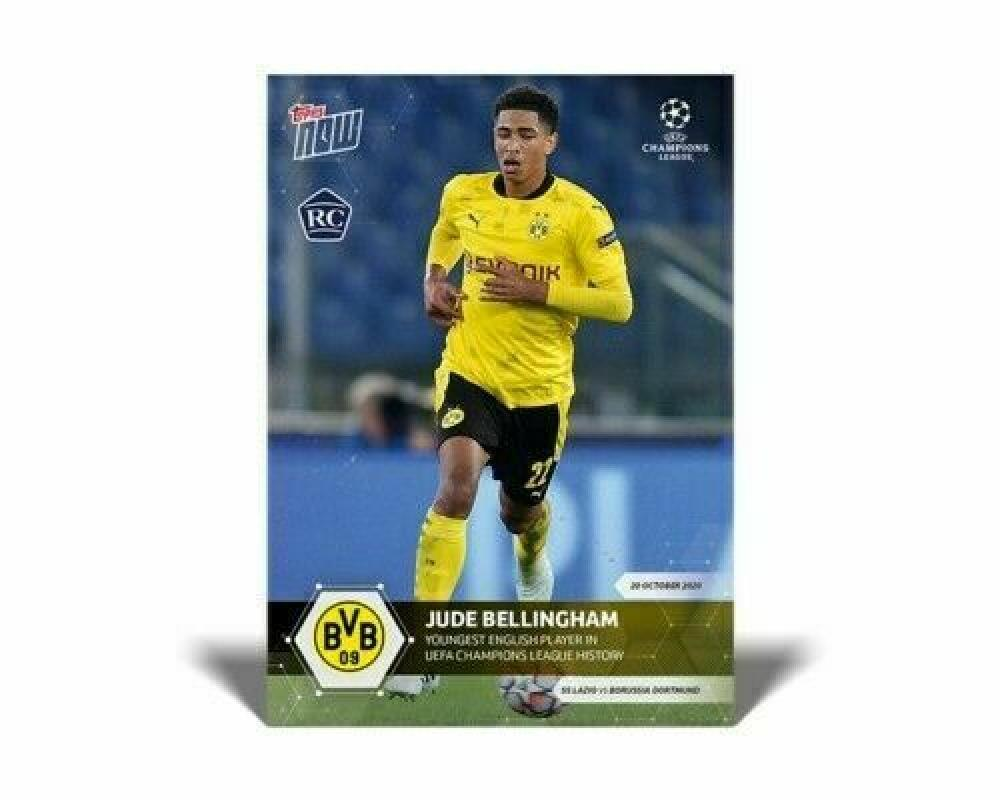 2020-21 Topps Now UEFA Champions League