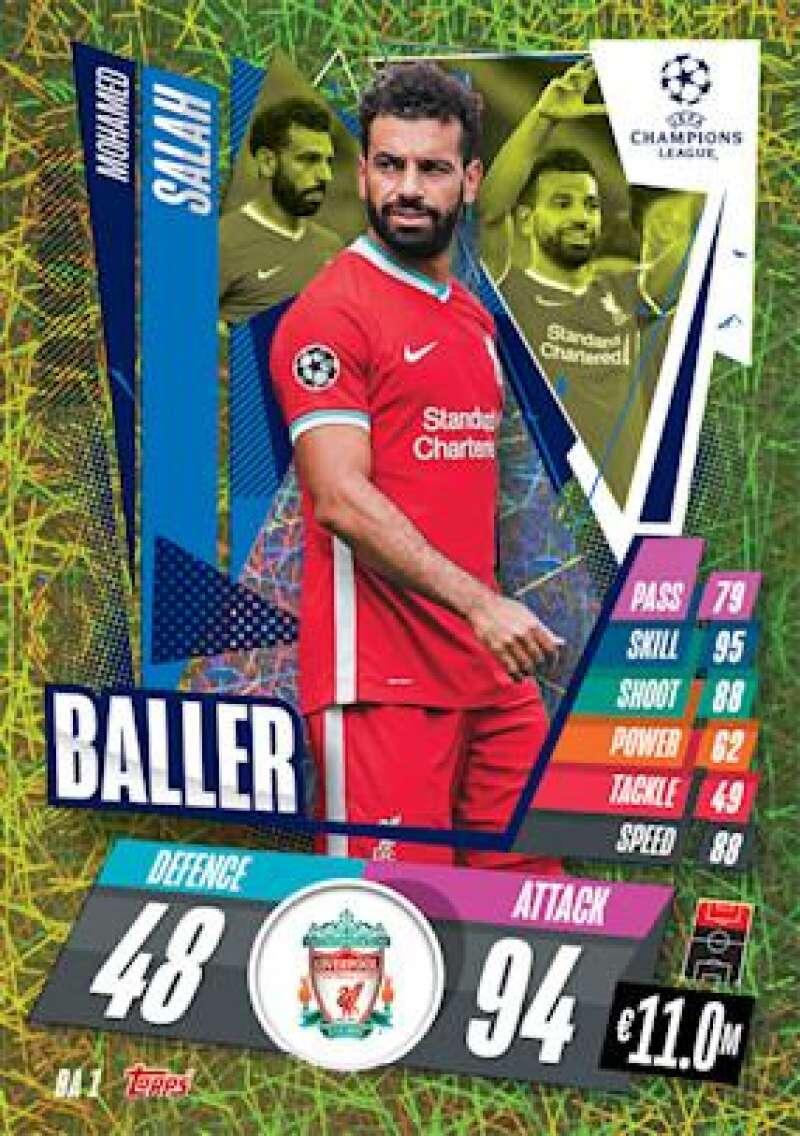 2020-21 Topps UEFA Champions League Match Attax Extra Baller