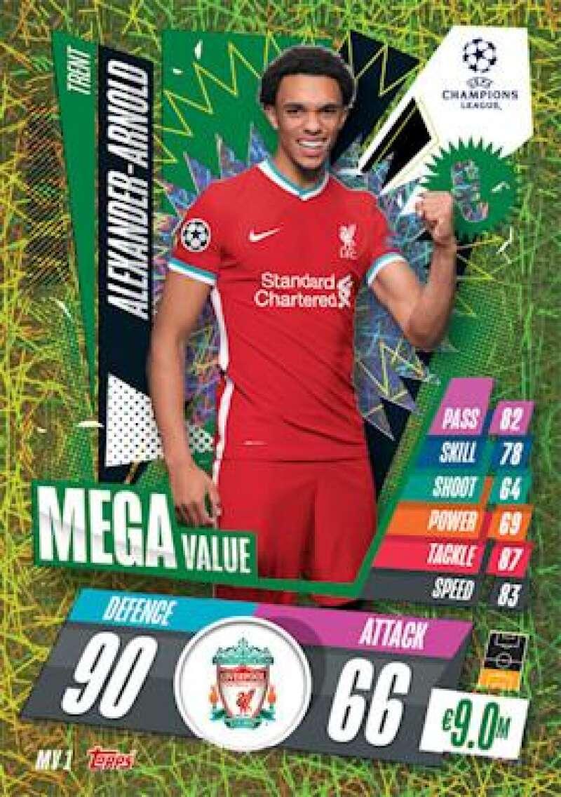 2020-21 Topps UEFA Champions League Match Attax Extra Mega Value