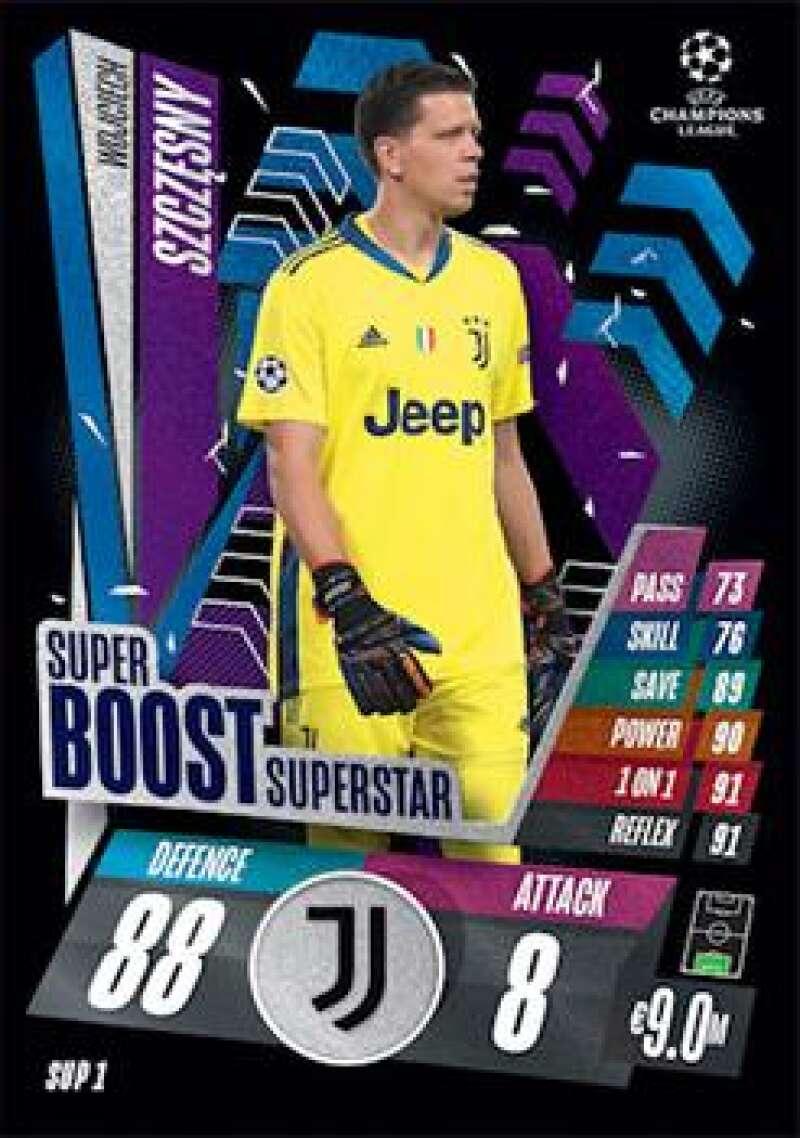 2020-21 Topps UEFA Champions League Match Attax Extra Super Boost Superstar