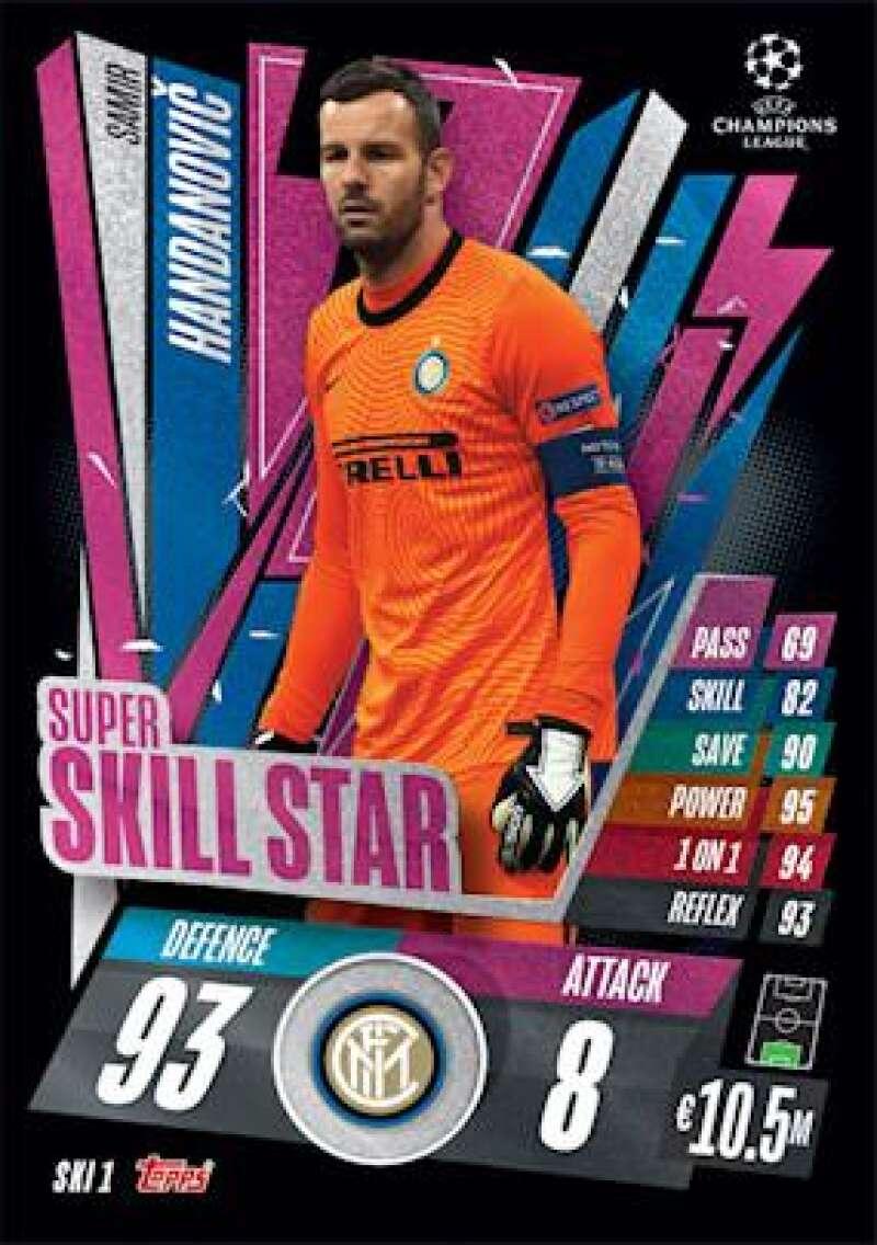 2020-21 Topps UEFA Champions League Match Attax Extra Super Skill Star