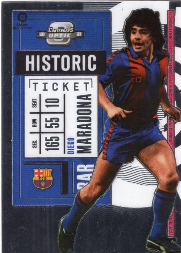 2020-21 Panini Chronicles Contenders Historic Rookie Ticket La Liga