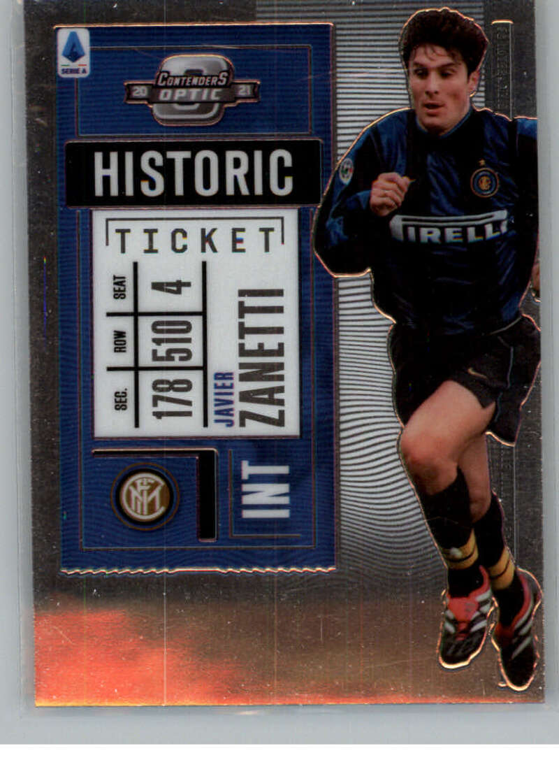 2020-21 Panini Chronicles Contenders Historic Rookie Ticket Serie A