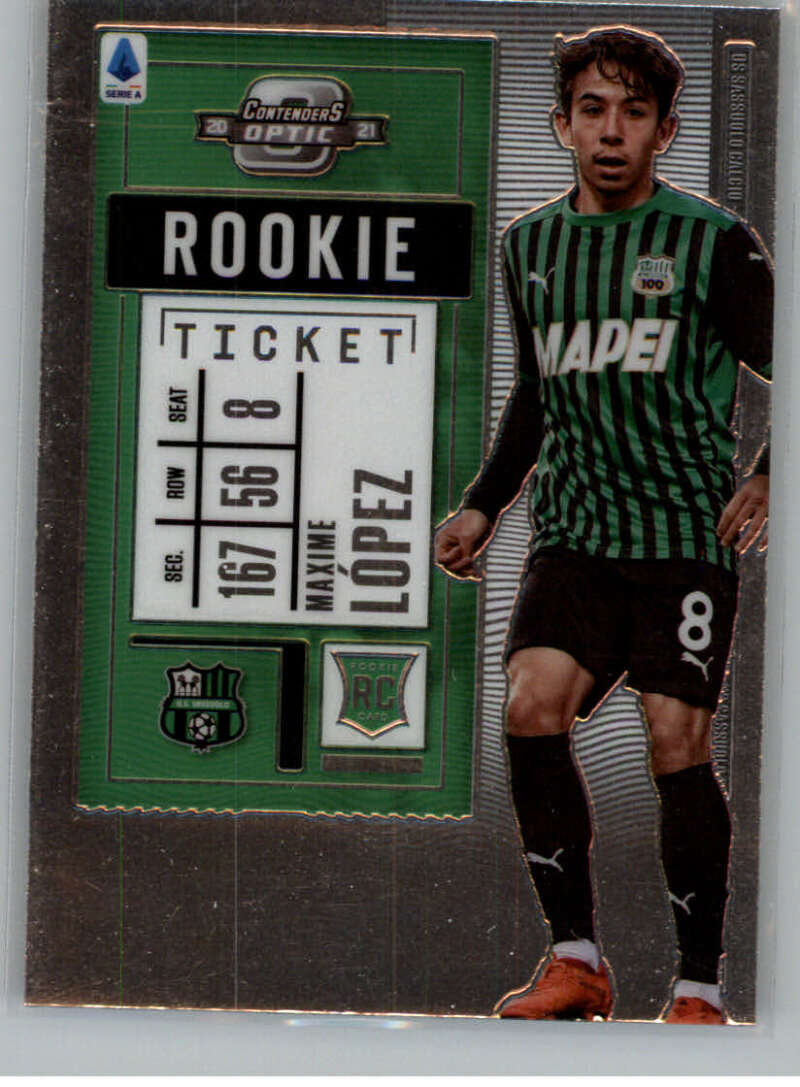 2020-21 Panini Chronicles Contenders Rookie Ticket Serie A