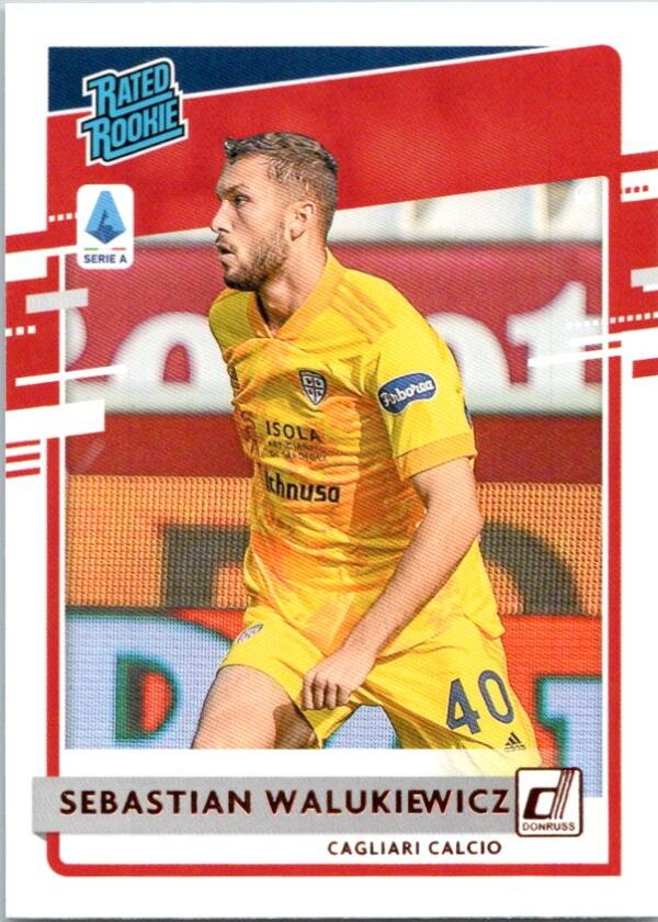 2020-21 Panini Chronicles Donruss Rated Rookies Serie A